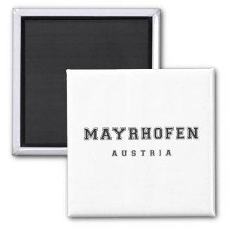 Mayrhofen Austria Square Magnet
