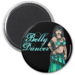 Maysun Belly Dancer Fridge Magnet