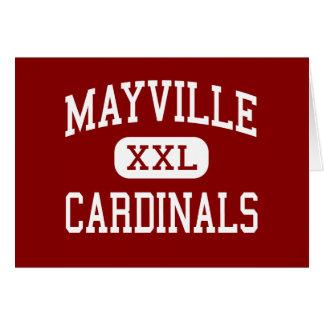 Mayville - Cardinals - High - Mayville Wisconsin Cards