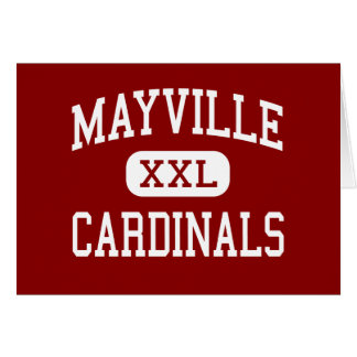Mayville - Cardinals - Middle - Mayville Wisconsin Card