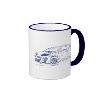 Maz 3 5dr 2012 ringer coffee mug