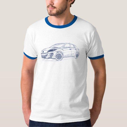 Maz 3 5dr 2012 T-Shirt