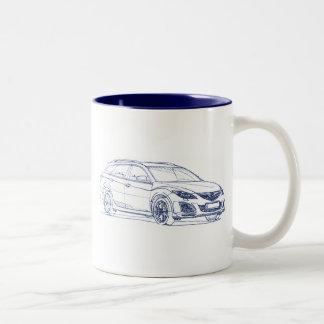 Maz 6 Wagon 2011 Two-Tone Coffee Mug