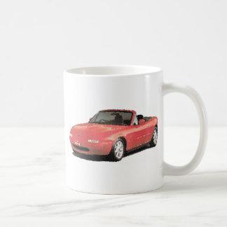 Maz Miata MX5 Eunos Gen1 cracked Coffee Mug