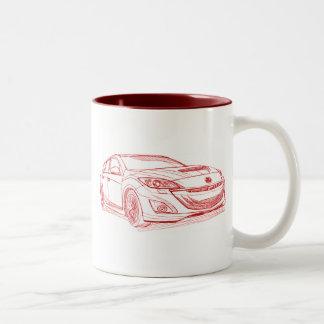 Maz Speed 3 2010 Two-Tone Coffee Mug