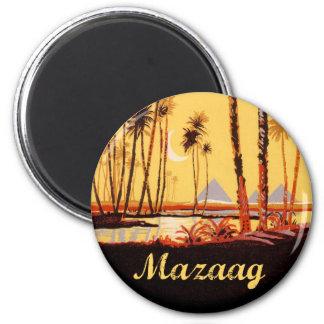 Mazaag Vintage Day 6 Cm Round Magnet