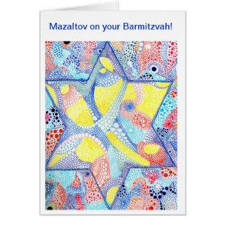 Mazaltov on your Barmitzvah Card