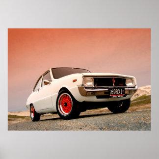Mazda R100 Vintage Japanese performance Print