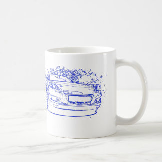 Mazda RX-8 coffee cup
