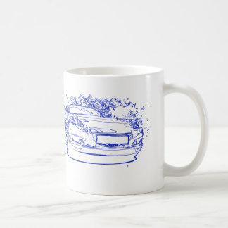 Mazda RX-8 coffee cup Basic White Mug