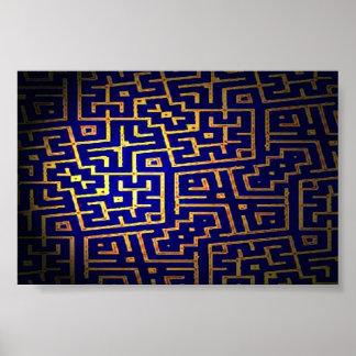 Maze 194 print