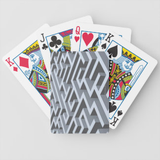 Maze 2 bicycle playing cards