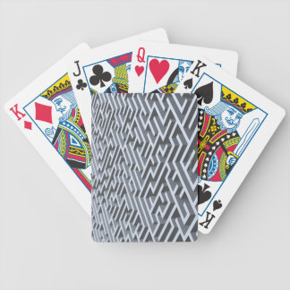 Maze Bicycle Playing Cards