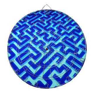 Maze Blue Dartboard