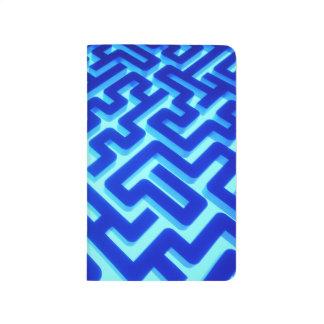 Maze Blue Journal