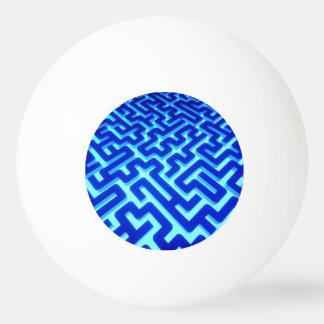 Maze Blue Ping Pong Ball