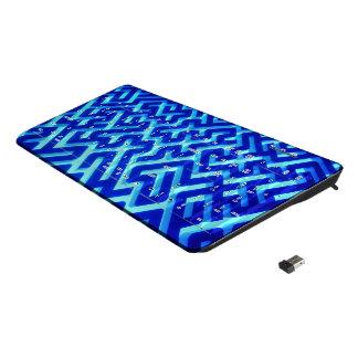 Maze Blue Wireless Keyboard