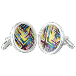 maze cufflinks