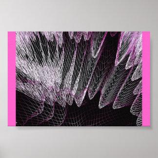 Maze Fishnet Print