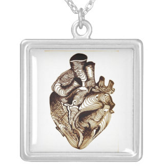 Maze Heart Necklace