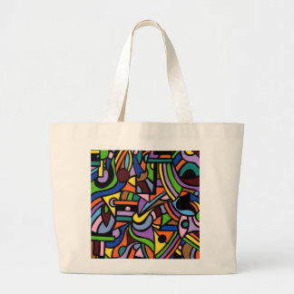 Maze Large Tote Bag