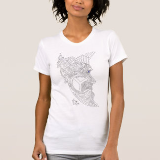 maze moon man T-Shirt
