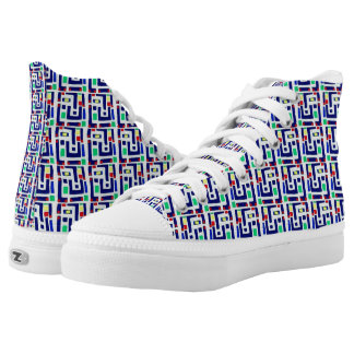 Maze Printed Shoes