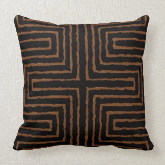 Maze Tribal Print African Design Cushion
