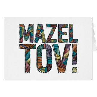 Mazel Tov Patchwork Multi Card