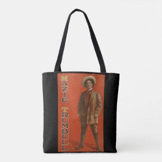 Mazie Trumbull vintage trans vaudeville - 2 pics Tote Bag