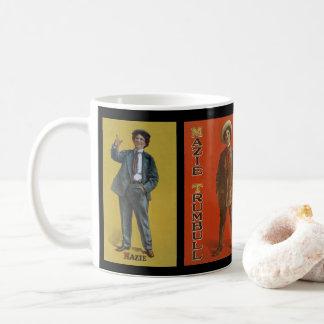 Mazie Trumbull vintage trans vaudeville image Coffee Mug