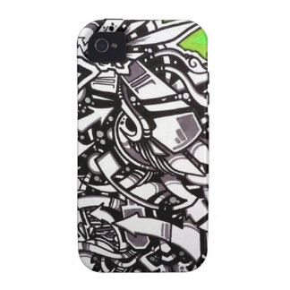 MAZO by smokeINbrains Case-Mate iPhone 4 Cover