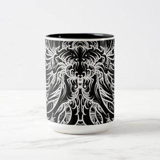 MAZO by smokeINbrains Two-Tone Mug