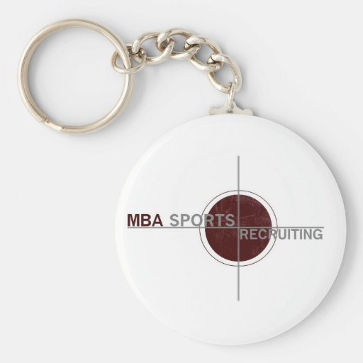 MBA Sports Recruiting keychain