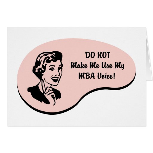 MBA Voice Greeting Card