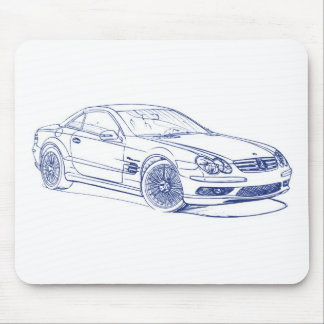 MBAMG SL55 2006 M MOUSE PAD