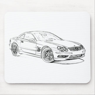 MBAMG SL55 2006 MOUSE PAD