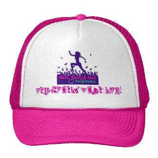 MBST Pink Trucker Hat- Transform Your Life