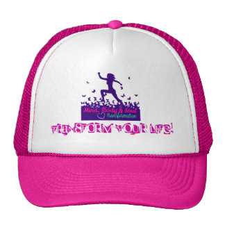 MBST Pink Trucker Hat- Transform Your Life! Cap