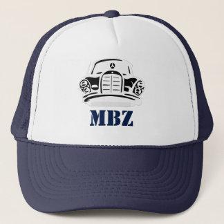 MBZ Hat Navy Stencil 2