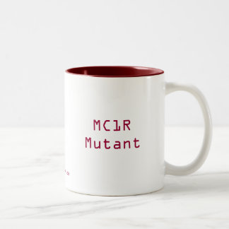 MC1R Mutant Two-Tone Coffee Mug