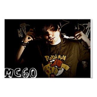 MC60 Skateboard Poster