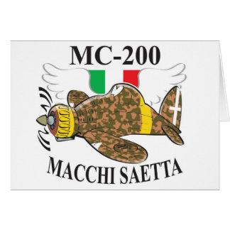 mc 200 saetta card