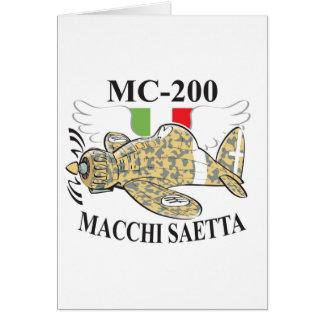 mc 200 saetta cards