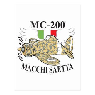 mc.200 saetta postcard