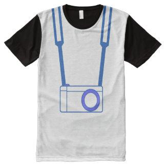 MC Camera Blue T-Shirt All-Over Print T-Shirt