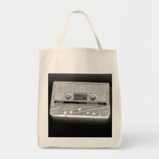 Mc cassette tape tote bag
