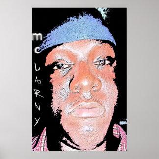 MC Larny Animated Poster