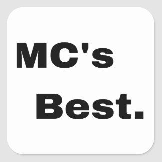 MC Stickers