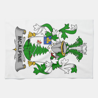 McAlpine Family Crest Hand Towels